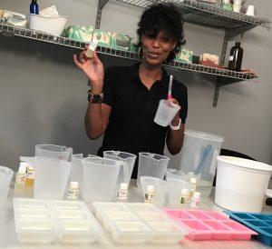 Learn Soap Making in Live Soap School